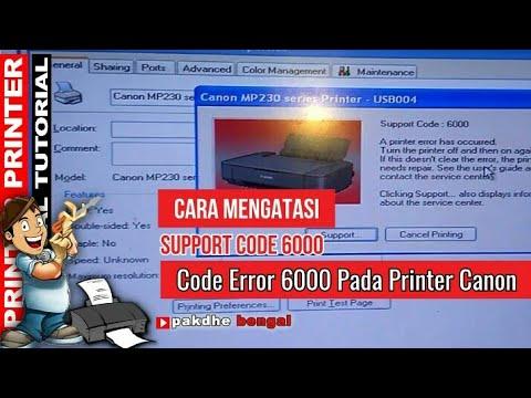 Cara Menangani Code Error 6000 Pada Printer Canon Mp237 Support