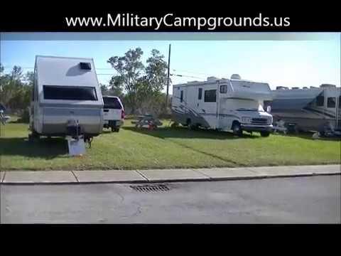 Video tour of Naval Air Station Key West RV Park, FL