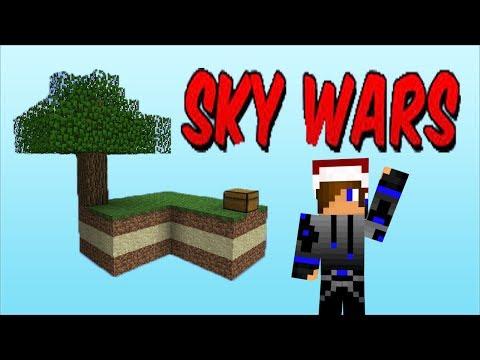 Jogando SkyWars  - Minecraft Games