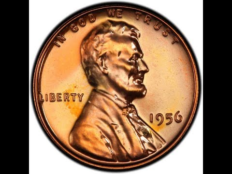 Cuanto vale el penny de 1956