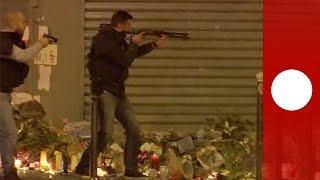 Paris attacks: Crowd erupts into panic at memorial, false alarm