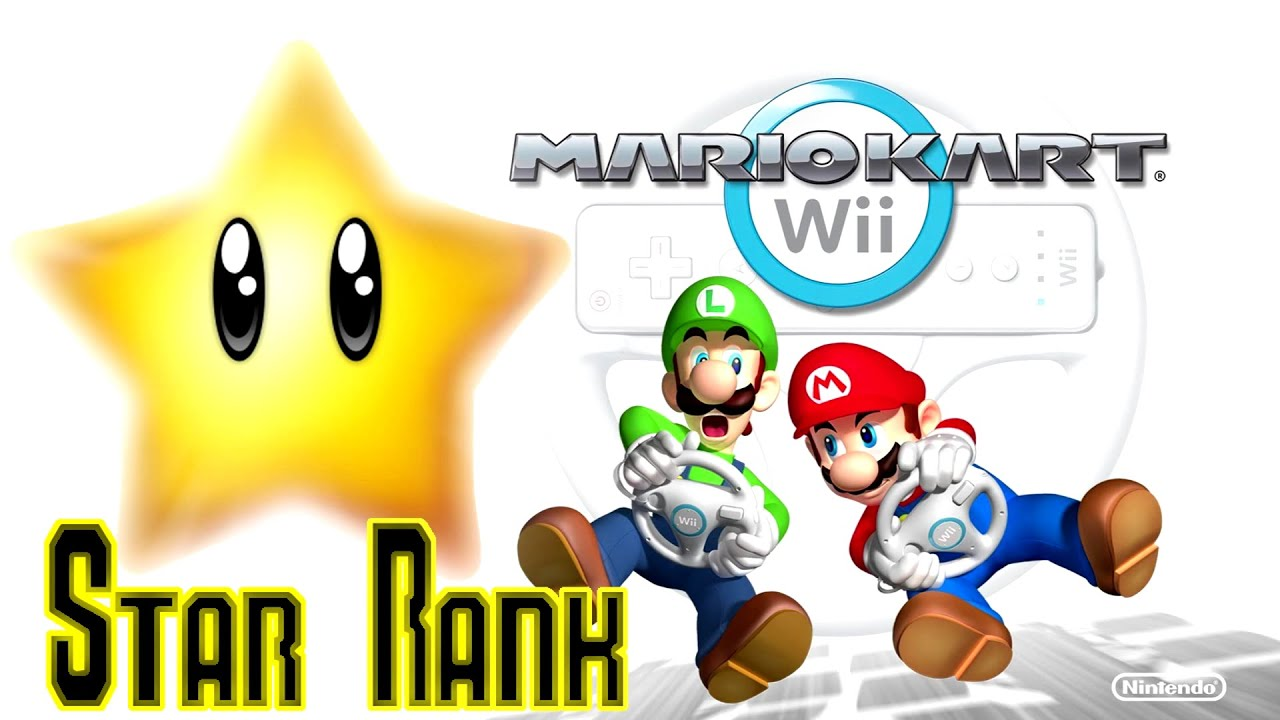 how to get 1 star in mario kart wii