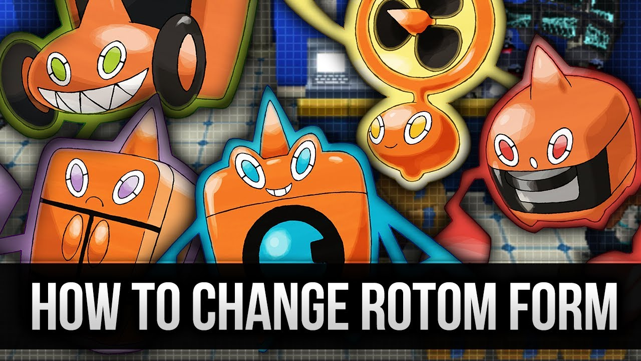 How & Where to catch/get - How to change Rotom forms in Pokemon X ...