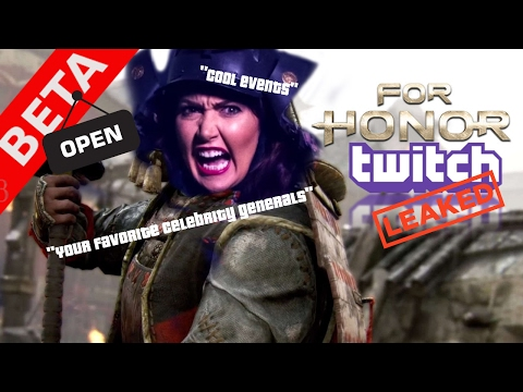 For Honor Open beta on 2/9- 2/12/17