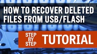 How To Recover Deleted Files From a USB or Flash Drive