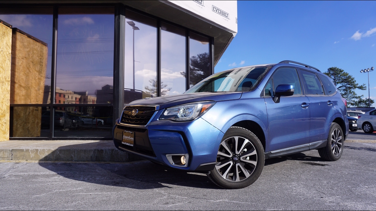 2017 Subaru Forester Xt Touring Review