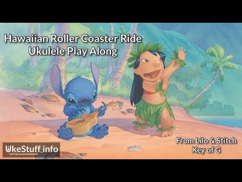 Hawaiian Roller Coaster Ride Ukulele Play Along Youtube
