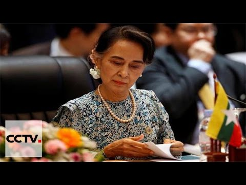 Aung San Suu Kyi first official visit to China