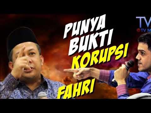 Heboh !!!!!!!! Fahri Hamzah di tuding Korupsi dan Ingin KPK di BUbarkan !!!!!