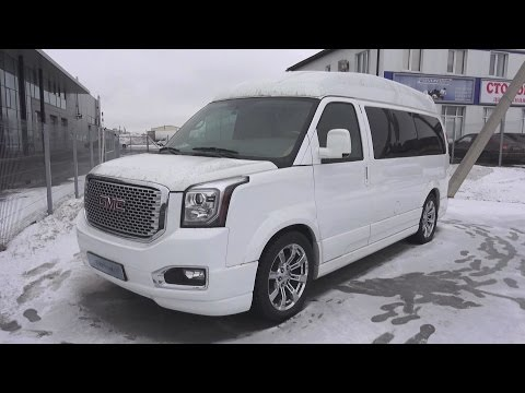 2014 Chevrolet Express. Start Up, Engine, and In Depth Tour.