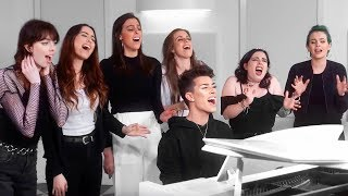 HI SISTERS! I hope you enjoy this cover of Never Enough from The Greatest Showman with one of my favorite groups of all time, Cimorelli. This collab means ...