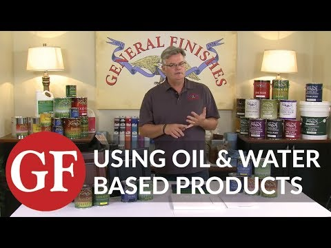Can Oil and Water Based Products Be Used Over One Another
