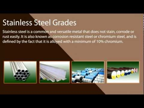 Suppliers of Stainless Steel Grades