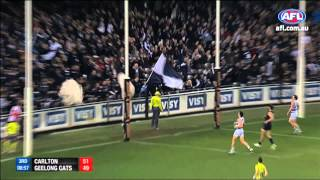 Chris Yarran - AFL Goal of the Year - Round 21
