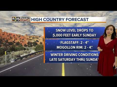 FORECAST: Cold-front moving to Valley; chances of rain