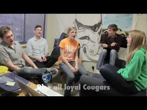 BYU Cougar Fight Song (Rise and Shout) - With Lyrics