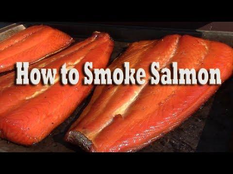 How To Make Smoked Salmon Brine Recipe Drying Smoking Process Youtube