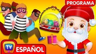 ChuChu TV Policía Huevos Sorpresa - Episodio 13 - Salvando los regalos sorpresas de la navidad