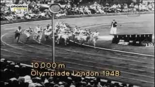Emil Zatopek - Olympic highlights 1948-52