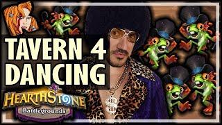 DANCING ON TAVERN 4 IS BACK?! - Hearthstone Battlegrounds