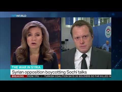 Syria's civil war : Delegate arrives in Sochi for peace talks