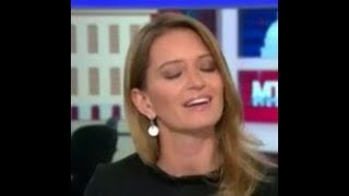 Katy Tur fake news MSNBC caught blatantly lying about President Trump 'I followed him'