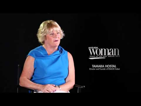 Emirates Woman - Woman Of The Year Awards 2015, Artists Nominee — TAMARA HOSTAL
