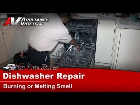 kitchenaid,-whirlpool-dishwasher-repair---burning-or-melting-smell---kudc10fxss5