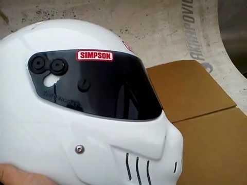 Simpson skull helmet sa2010 - YouTube