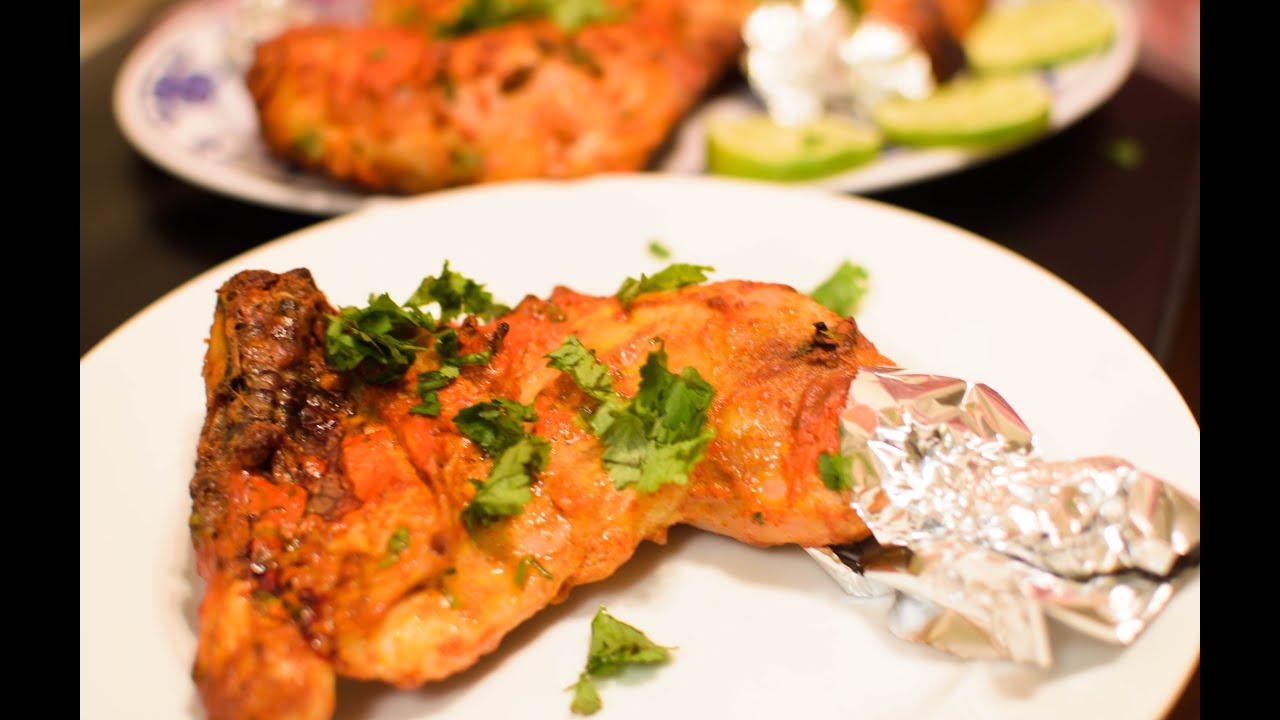 how to cook tandoori chicken in clay oven