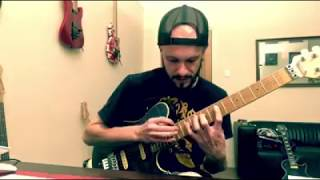 4 Note Per String Pentatonic Tapping Lick!