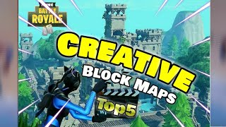 TOP 5 Creative Mode Builds in FORTNITE (With Codes)
