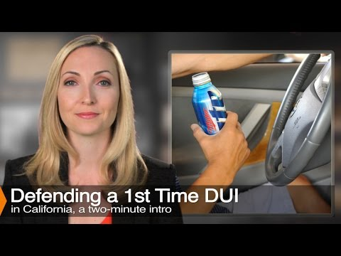 A video explaining a First Time DUI, Legal Defenses, and Penalties.