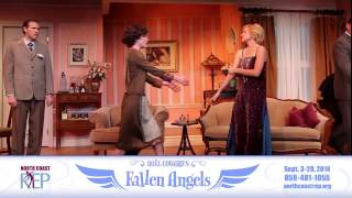 FALLEN ANGELS by Noel Coward - at North Coast Rep Sep 2014