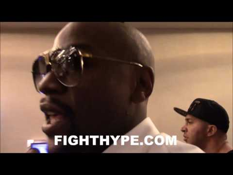 FLOYD MAYWEATHER REACTS TO GOLOVKIN'S TKO OF KELL BROOK; SAY HE WOULDN'T HAVE STOPPED THE FIGHT