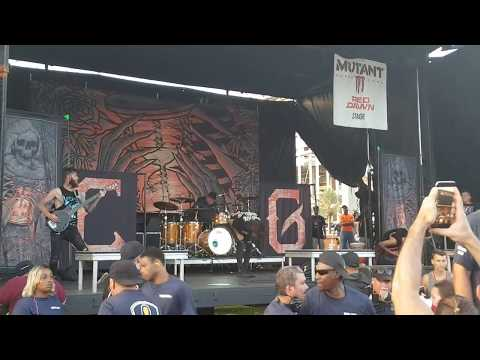 Chelsea Grin - Recreant (Live @ Final Warped Tour 2018 Orlando, FL)