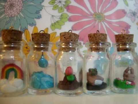 Glass Bottle Pendants Glass bottle charms youtube glass bottle charms audiocablefo