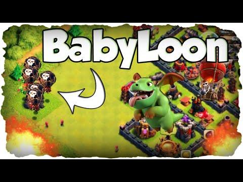BabyLoon First Try! | CLASH OF CLANS #122 | Drachenbaby & Ballon! (Deutsch / German)