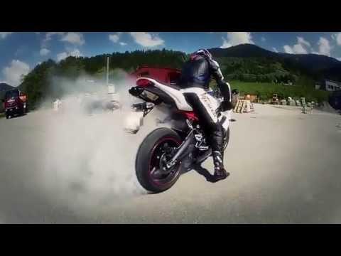прикольное видео про мотоциклы - Ржачные видео приколы