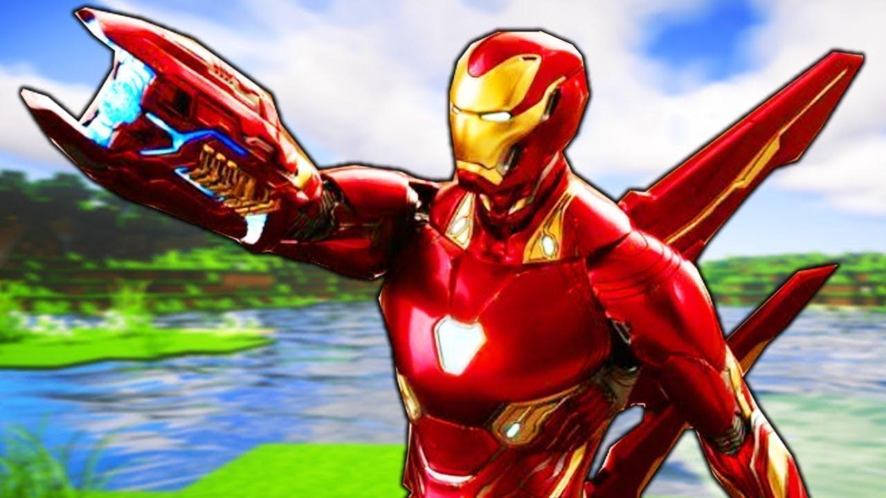 Марк 46 Железный Человек в майнкрафт - YouTube