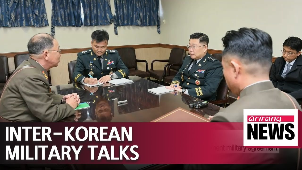 Two Koreas Hold Working Level Talks On Friday To Implement Military