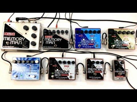 Electro Harmonix Delay Shootout Deluxe Memory Man Boy Toy 550TT Tap Analog Digital