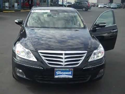 2009 Hyundai Genesis 3 8 W Tech Package At Sheppard