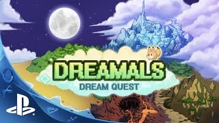 Dreamals: Dream Quest - Gameplay Trailer | PS4