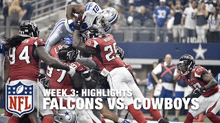 Falcons vs. Cowboys | Week 3 Highlights | NFL