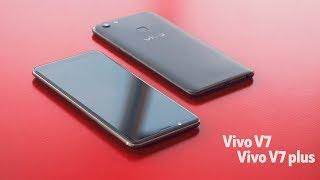 Беглый взгляд на смартфоны Vivo V7 и V7 plus