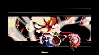 Luffy Gear 4th char mugen edited by ANHTHAI | Preview all skill and Download