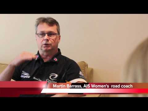Martin Barras talks about the Australian Women's Road team leading up to London 2012