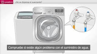 LG Lavadora: no dispensa suavizante