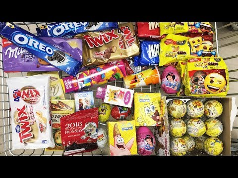 A Lot Of Candy 2018 NEW #39 Киндер...